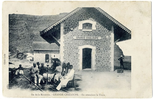gare ferroviaire à La Réunion