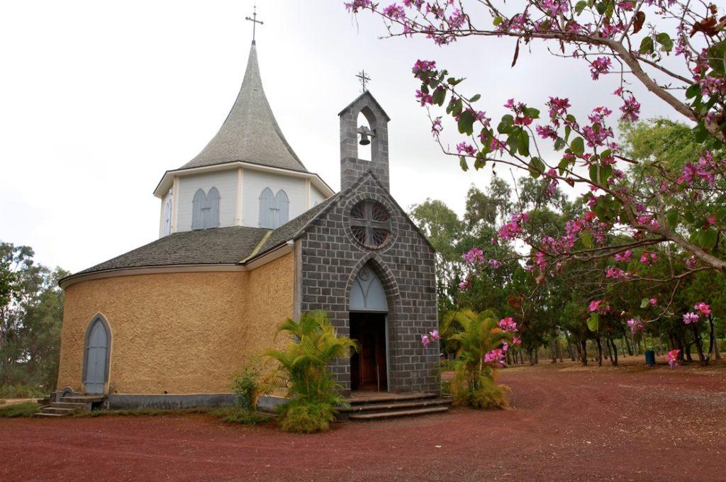 La Chapelle Pointue est le tombeau de Madame Desbassyns