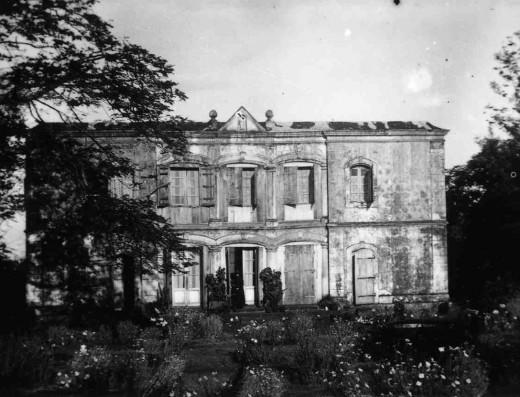Demeure de Madame Desbassyns en 1920