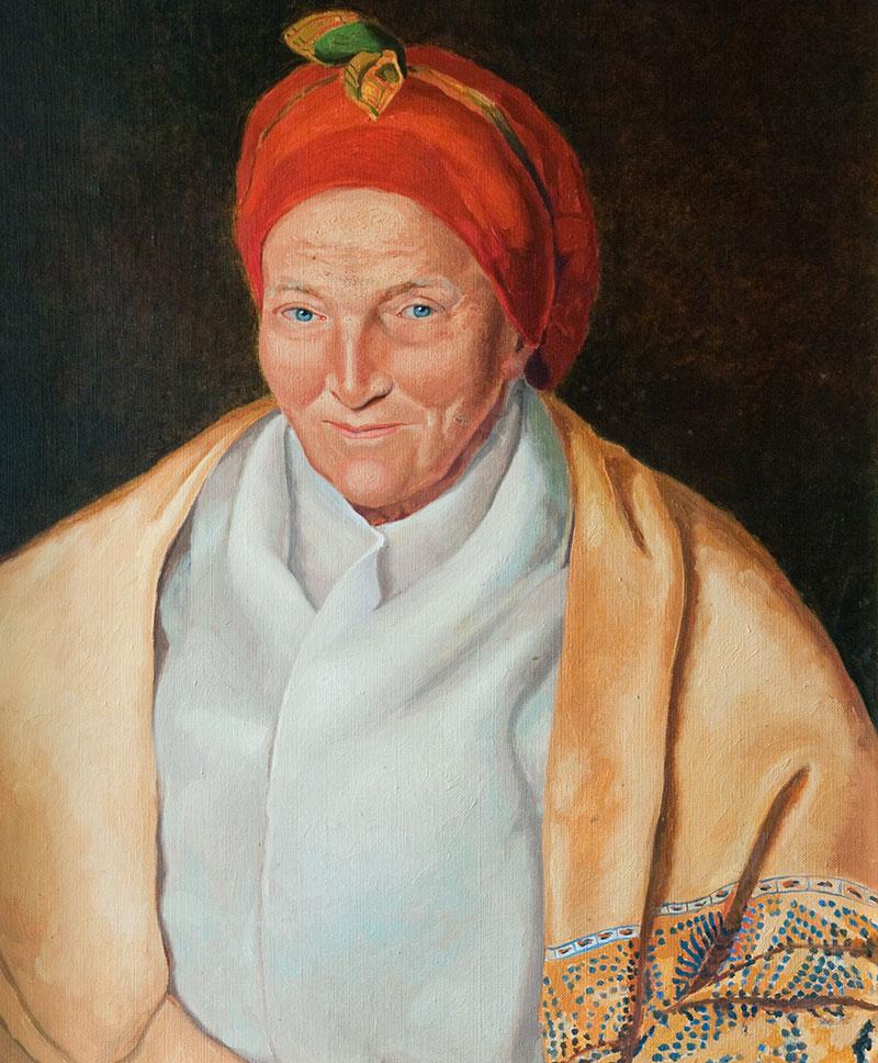 Portrait de Madame Desbassyns